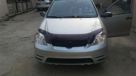 Toyota Matrix 2003 Price In Nigeria Sold Toks Toyota Matrix 2003 Best Price Offer Autos