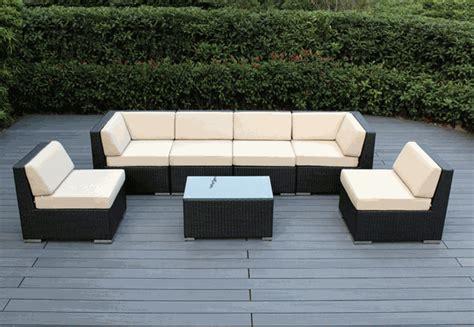 wicker seating patio furniture beautiful outdoor patio wicker furniture seating 7pc