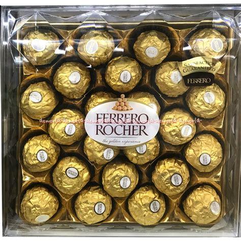 Coklat Praline Isi 24 Pcs ferrero rocher chocolate gold coklat bulat emas ferero rocer isi 24pcs shopee indonesia