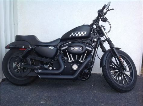 2010 Harley Davidson Iron 883 by Buy 2010 Harley Davidson Sportster Iron 883 On 2040motos