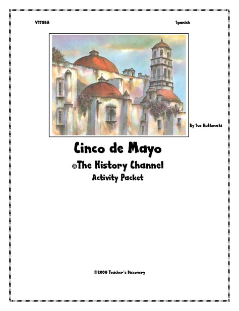 The History Channel Cinco De Mayo Worksheet