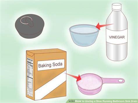 slow bathtub drain baking soda 25 best ideas about unclog sink on pinterest unclogging