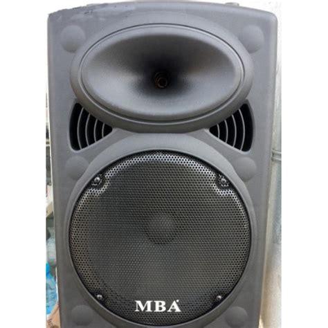 Broadcasting Mba by най мощната 15 инча караоке тонколона Mba F 15 Bluetooth