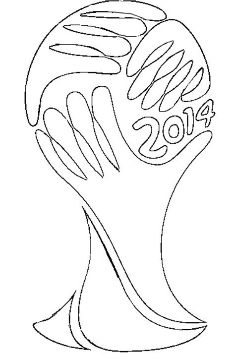 2014 Fifa World Cup Logo Coloring Pagesfree Coloring Pages World Cup Coloring Pages