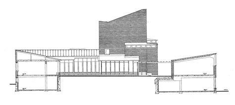 Section S by Gallery Of Ad Classics S 228 Yn 228 Tsalo Town Alvar Aalto