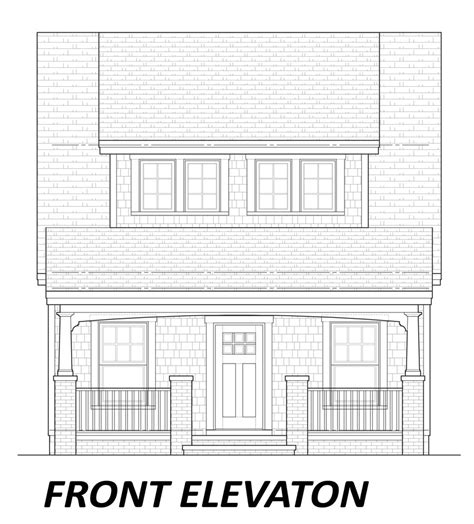 bungalow floor plan with elevation 100 bungalow floor plan with elevation small