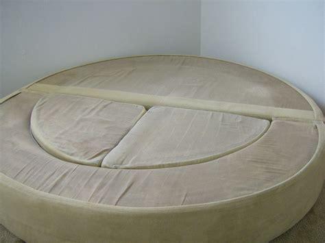 vintage 1970 s 70 s circular modern mod sofa bed