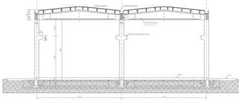 capannone industriale dwg capannoni magazzini depositi dwg