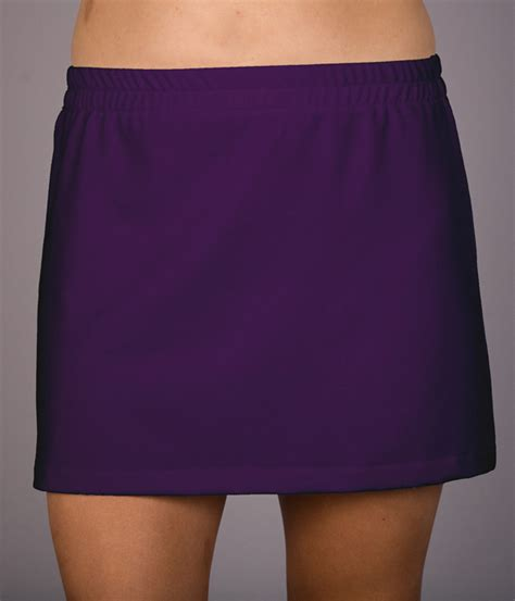 purple or royal a line tennis skirt