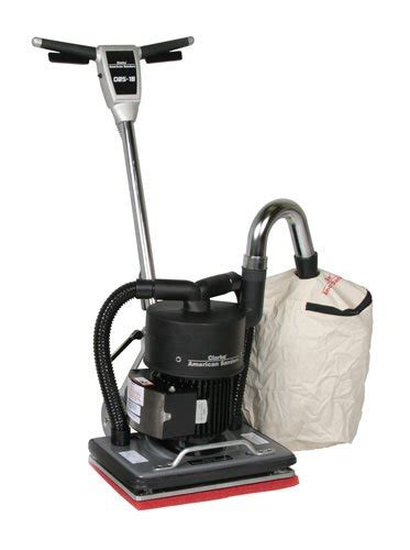 clarke floor sander orbital dust drum floor
