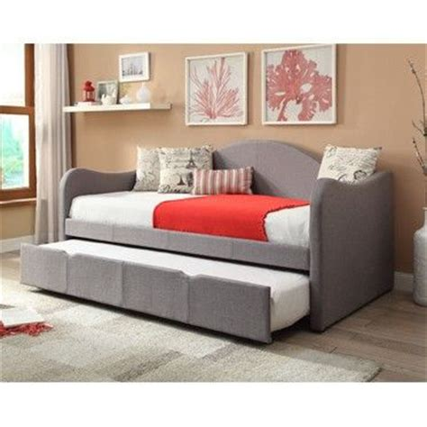 cute bed frames powell upholstered day bed 14s2019 powell upholstered