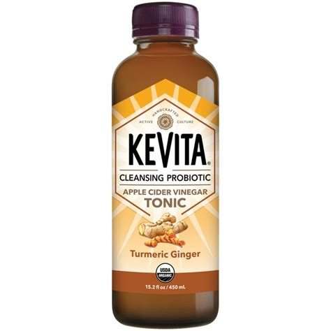 Apple Cider Vinegar And Turmeric Detox by Kevita Turmeric Apple Cider Vinegar Tonic Cleansing