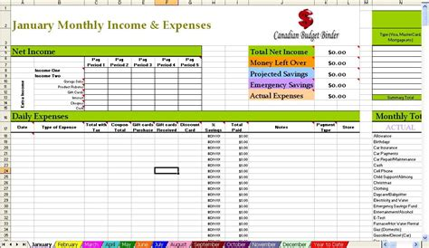 Household Budget Template Excel Free by Household Budget Spreadsheet New Calendar Template Site