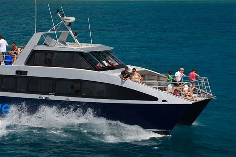 fast boat reef port douglas half day reef cruise for snorkeling from port douglas