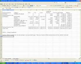 Forecasting Budget Template 2016 2017 General Operating Budget Forecast Guideline