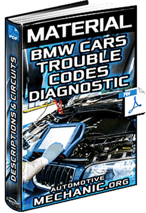 Bmw Trouble Codes by Bmw Trouble Codes Specific Generic Descriptions Obd
