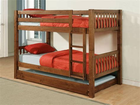 Powell Bunk Bed Powell Rustic Pine Bunk Bed 479 138 Homelement