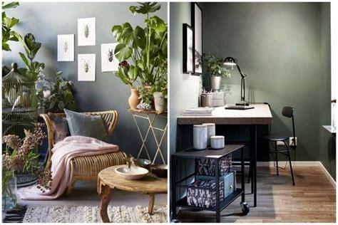 Cuisine Mur Vert by Comment Int 233 Grer La Couleur Vert Kaki Dans Sa D 233 Coration