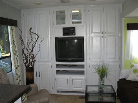Vinyl Kitchen Cabinets Rv And Camper Decor Series Diy Rv Design