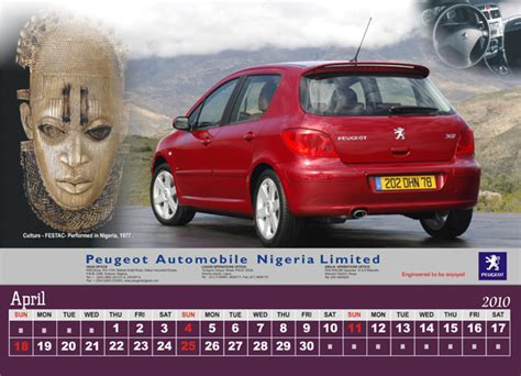 peugeot nigeria eye over africa graphic design printing services