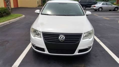 buy car manuals 2006 volkswagen passat on board diagnostic system buy used 2006 volkswagen passat 2 0t 6 speed manual white in orlando florida united states