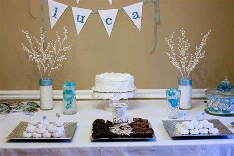 winter baby shower theme winter snowflake baby shower ideas