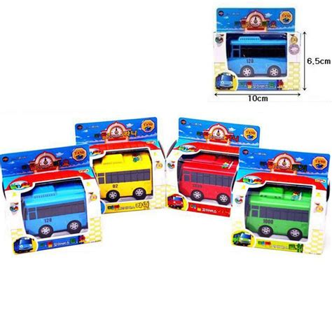 Tayo Garasi Set 4pcs the tayo mini diecast metal set tayo rogi