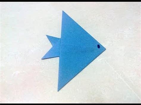 Make A Paper Fish - fish paper