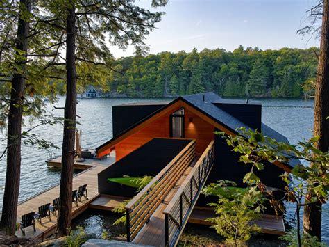 houseboat upstate new york lake joseph boathouse new york