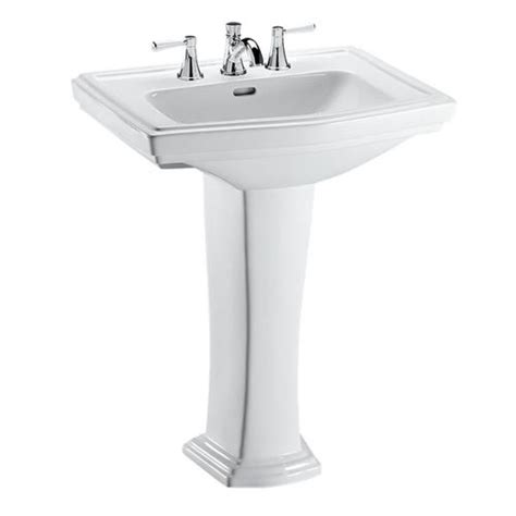 toto kitchen sink toto lpt780 8 clayton pedestal bathroom sink sink with 8
