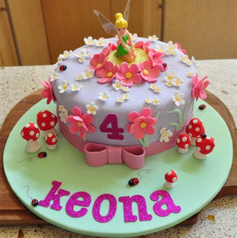 Birthday Cake Designs by Tinkerbell Cakes Decoration Ideas Birthday Cakes