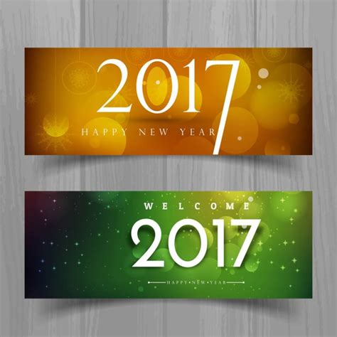free vector new year banner banners for new year vector free
