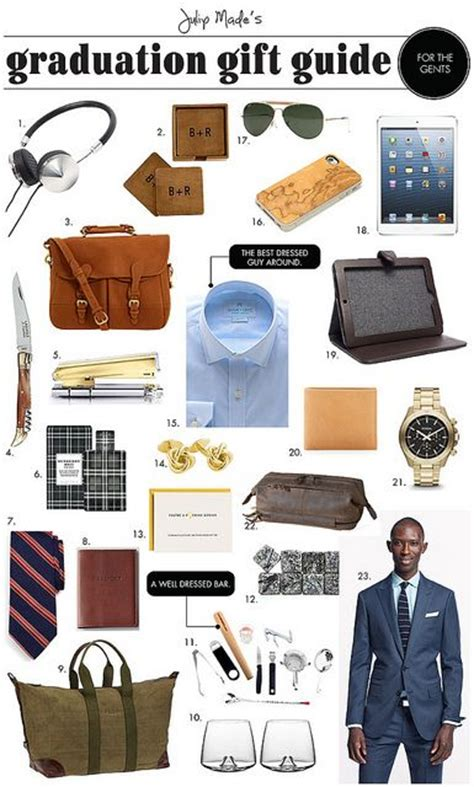 gifts design ideas best college graduation gifts for men