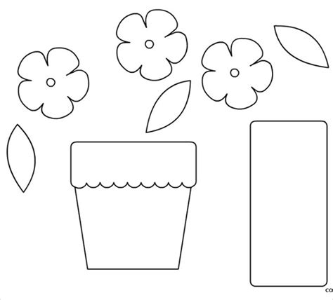 potted flower pot card flowers templates 9 flower pot templates psd vector eps jpg ai