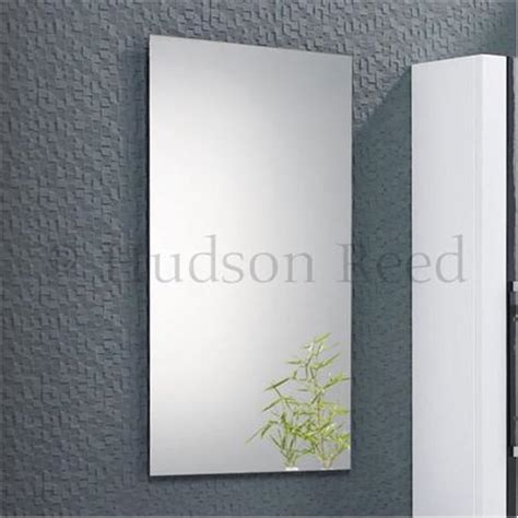 Hudson Reed Bathroom Mirrors Hudson Reed Lumina Bathroom Mirror Lf234 At Plumbing Uk