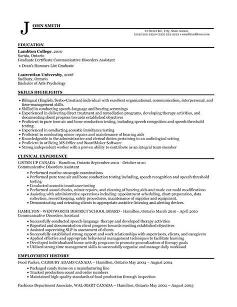 Resume Sample Objectives For Fresh Graduates by Audiology Clinical Assistant Resume Template Premium