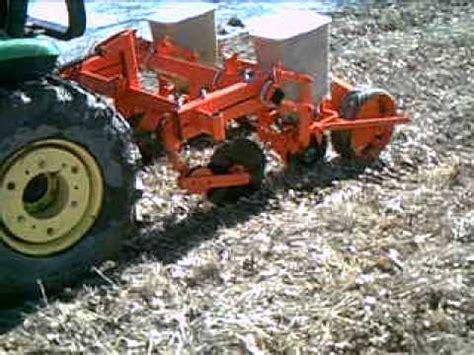 ac two row no till planter