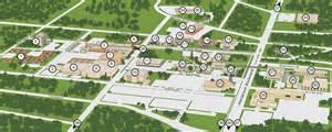 map of kilgore interactive cus tour kilgore college