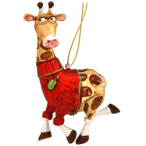 giraffe christmas ornaments webnuggetz com