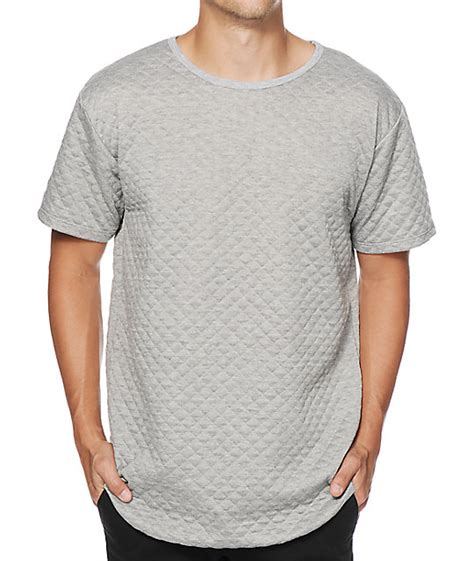 Quilted Shirts For by Eptm Quilted Elongated Drop T Shirt At Zumiez Pdp