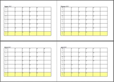 Calendar 2015 January And February 8 Complete 2015 Calendar Template Designs To Free