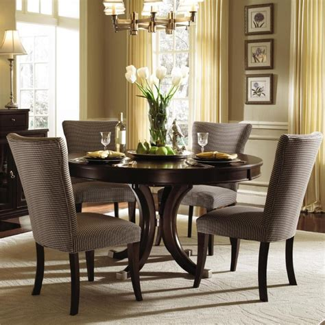 beautiful dining rooms prime home beautiful upholstered chairs to renew dining room atmosphere designoursign