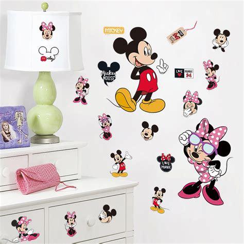 mickey mouse bedroom stickers 60x92 month plan calendar chalkboard blackboard vinyl wall