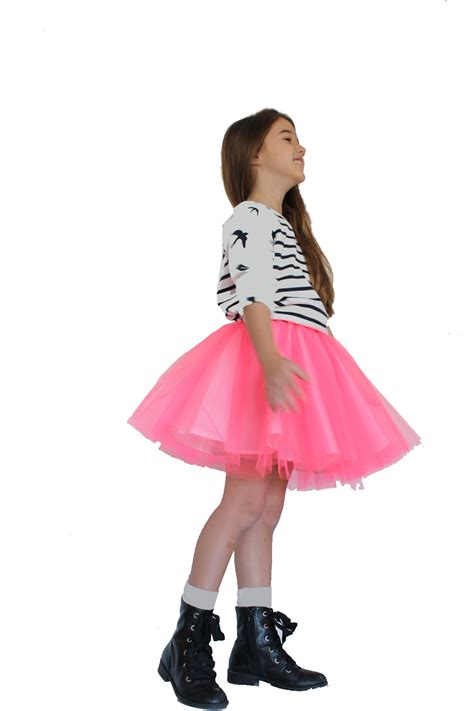 Max Dotted 3s davida s neon tulle skirt with dotted skirt