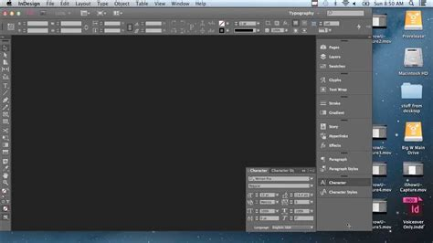 tutorial for indesign cc adobe indesign cc tutorial a whole new workspace for