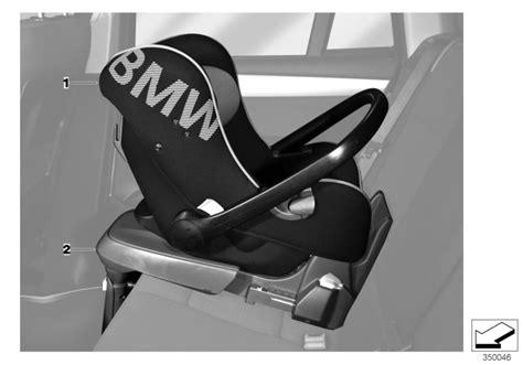 bmw baby car seat bmw genuine baby car seat 0 rear facing in black