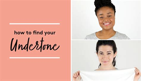 how to your to search here s how to find your undertone