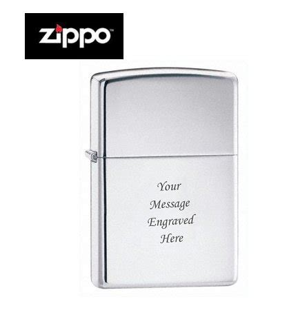 buy personalised zippo lighter opalescence heavy wall