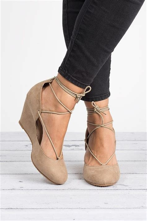 Of The Shoes Wedges by Faux Suede Wedge Pumps Wedges Pumps And Ballet Flat