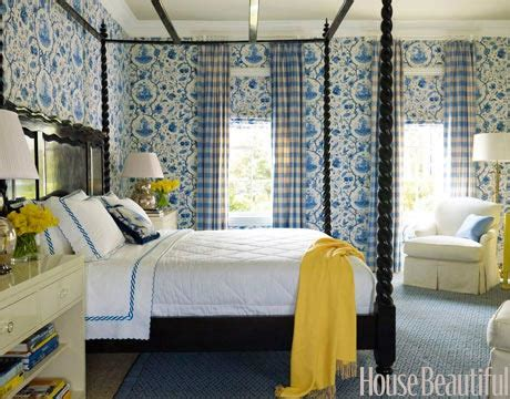blue white yellow bedroom blue and white rooms